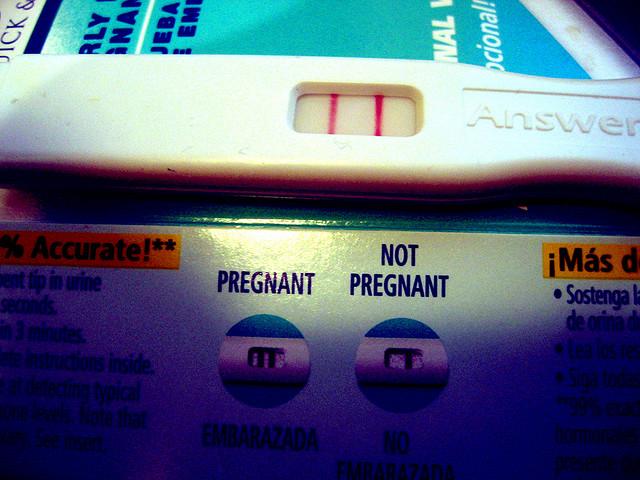 Plamienie w czasie ciąży