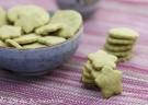 Ciasteczka z zieloną herbatą