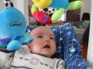 Zabawki dla niemowlaka - grzechotki