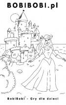Kolorowanka Księżniczka